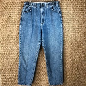 Vintage Lee High Waisted Mom Jeans Size 14